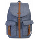 Herschel Dawson Backpack Dark Chambray Crosshatch/Tan